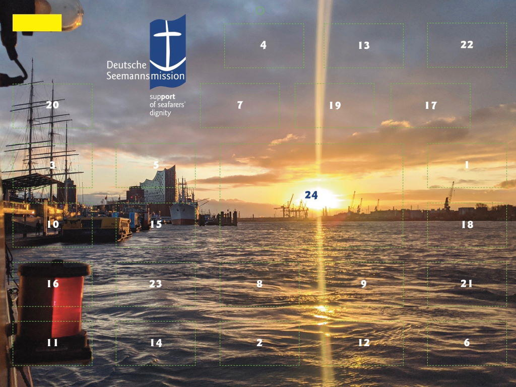 Cover des Maritimen Adventskalender 2020
